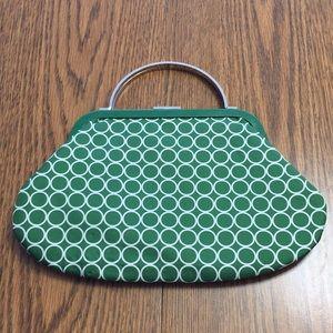 Green Silk Banana Republic handbag